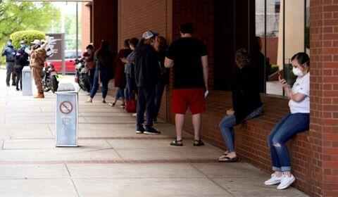عبور متقاضیان کمک هزینه بیکاری در آمریکا از ۳۶ میلیون نفر