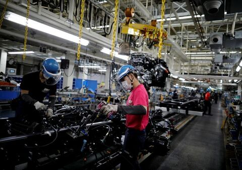 کاهش ۳۸درصدی فروش جهانی خودروسازان ژاپنی در ماه مه