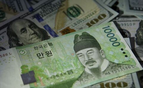 مداخله ۵.۸۵ میلیارد دلاری بانک مرکزی کره جنوبی در سه ماهه اول سال