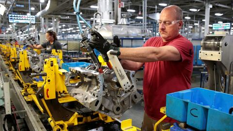 افزایش بیشتر از انتظارات تولیدات صنعتی آمریکا در جولای