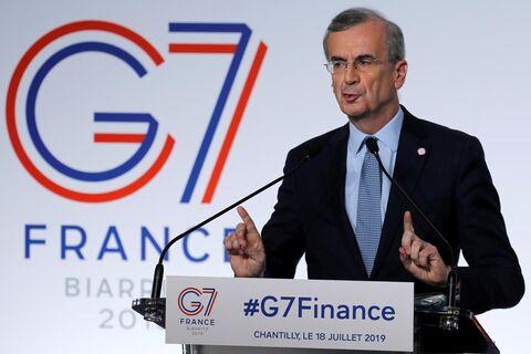 رییس بانک مرکزی فرانسه: هرگونه اصلاح رشد اقتصادی صعودی خواهد بود