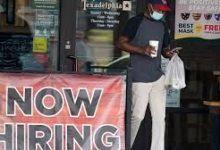 کاهش نرخ بیکاری آمریکا به زیر ۱۰ درصد