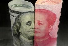 افزایش ذخایر ارزی چین در ماه آگوست به ۳.۱۶۵ تریلیون دلار