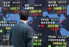 تغییرات بازار سهام آسیا و اقیانوسیه