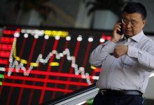 رشد سهام آسیا، جهش یوان